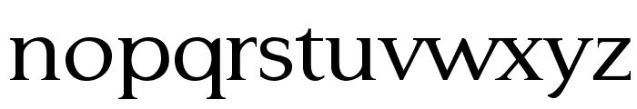 Typo3-Medium Font LOWERCASE