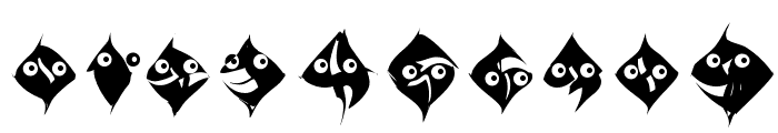 TypoAnarchycalEyes Font OTHER CHARS