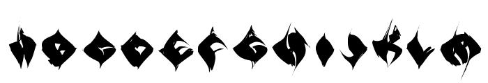TypoAnarchycalEyes Font UPPERCASE