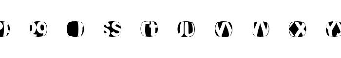 TypoDisturbances Font OTHER CHARS