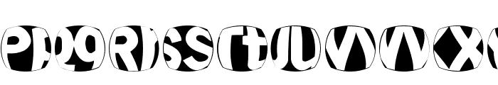 TypoDisturbances Font UPPERCASE