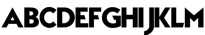 TypoGraphica Font UPPERCASE