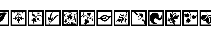 TypoJewelsSquares Font LOWERCASE