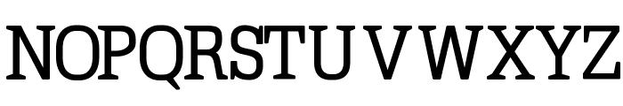 TypoLatinserif-Bold Font UPPERCASE
