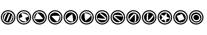 TypoSymbolsTwo Font UPPERCASE