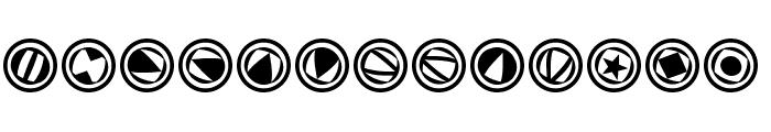 TypoSymbolsTwo Font LOWERCASE