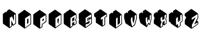 Typobricks-Bold Font UPPERCASE