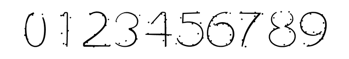 Typochok Font OTHER CHARS