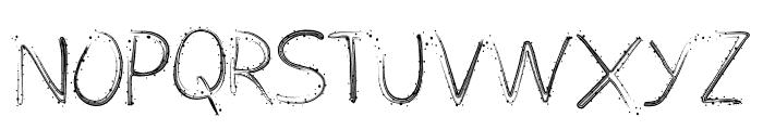 Typochok Font UPPERCASE