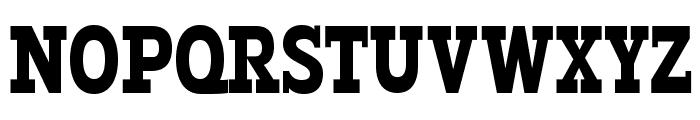 Typodermic-Regular Font UPPERCASE