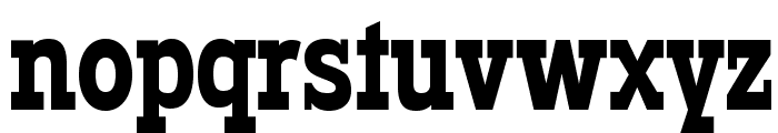 Typodermic-Regular Font LOWERCASE