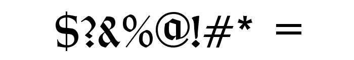 Typographer Rotunda Alt Font OTHER CHARS