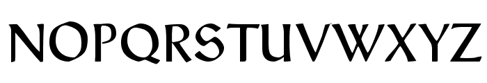 Typographer Rotunda Alt Font UPPERCASE