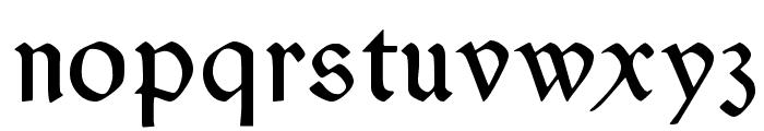 Typographer Rotunda Alt Font LOWERCASE