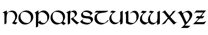 Typographer Uncialgotisch Font UPPERCASE