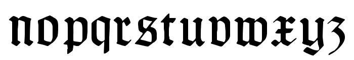 TypographerGotisch A UNZ1 Font LOWERCASE