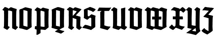 TypographerTextur-Bold Font UPPERCASE