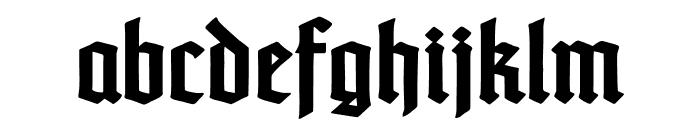 TypographerTextur-Bold Font LOWERCASE