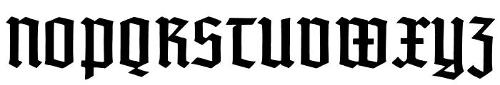 TypographerTextur Font UPPERCASE
