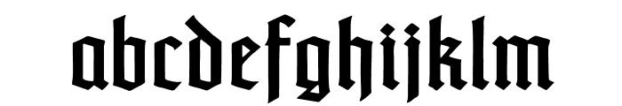 TypographerTextur Font LOWERCASE
