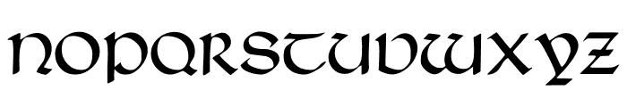 TypographerUncialgotisch Font UPPERCASE