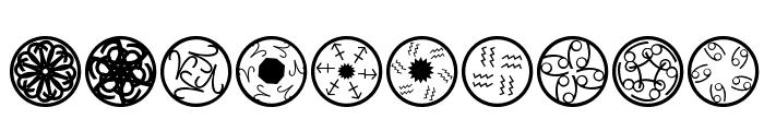 TypographicRosettas Font OTHER CHARS