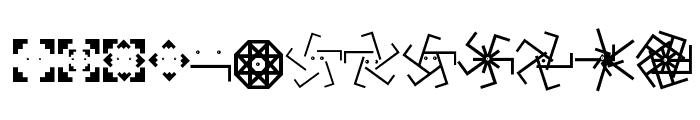 TypographicSignals Font UPPERCASE