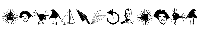 TypographicSignals Font LOWERCASE