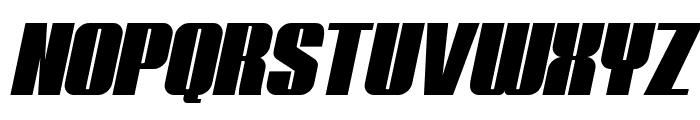 Typoline Italic Font UPPERCASE