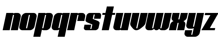 Typoline Italic Font LOWERCASE
