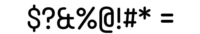 Typori Regular Font OTHER CHARS