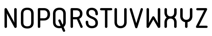 Typori Regular Font UPPERCASE