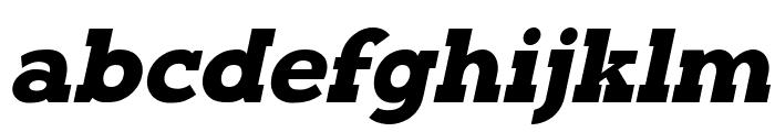 Typoster Italic Font LOWERCASE