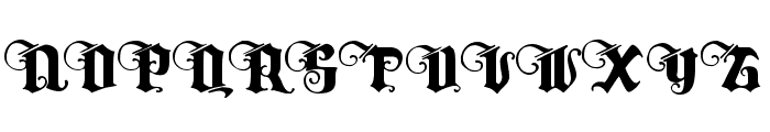 Tyrfing Demo Font UPPERCASE