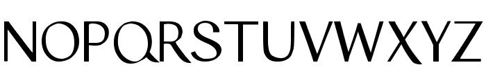Tyro Sans Font UPPERCASE