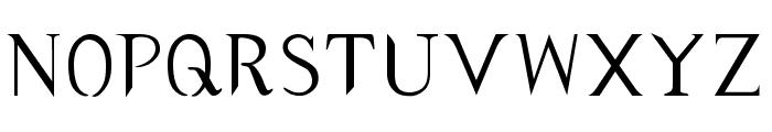 typernatural Font UPPERCASE