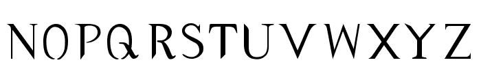 typernatural Font LOWERCASE
