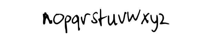 typischvoornu2014 Font LOWERCASE