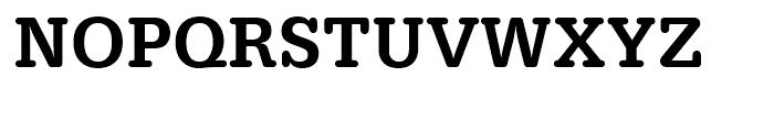 Typewriter Medium Narrow Font UPPERCASE