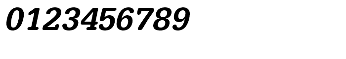 Typewriter Medium Oblique Font OTHER CHARS