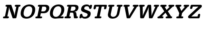 Typewriter Medium Oblique Font UPPERCASE