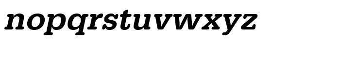 Typewriter Medium Oblique Font LOWERCASE