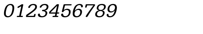 Typewriter Regular Wide Oblique Font OTHER CHARS