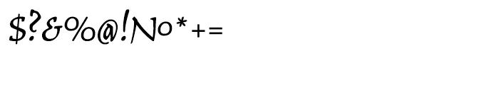 Typoskript Pro Regular Font OTHER CHARS