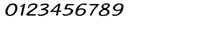 Typothetical 1 Expand Oblique Font OTHER CHARS