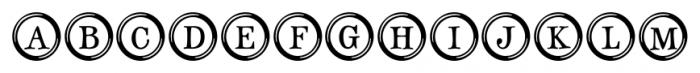 Type Keys Regular Font UPPERCASE