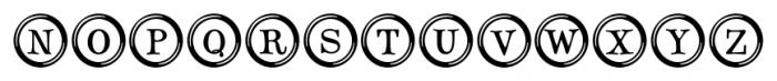 Type Keys Regular Font LOWERCASE