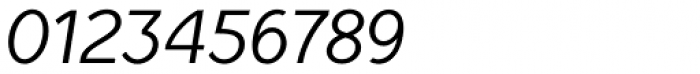 TyfoonSans Italic Font OTHER CHARS