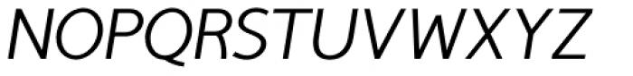 TyfoonSans Italic Font UPPERCASE