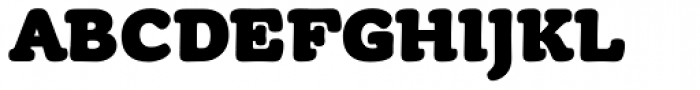 Tyke Black OS Font UPPERCASE
